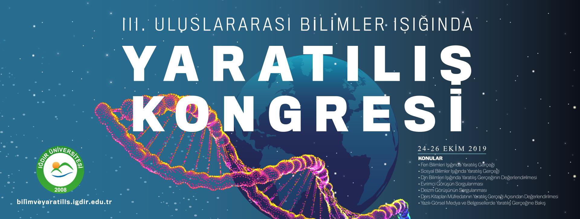 Uluslararası Bilimler Işığında Yaratılış Kongresii ile ilgili görsel sonucu